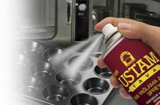Ustam Tava - спрей мазнина /омазнител/ за готвене и печене