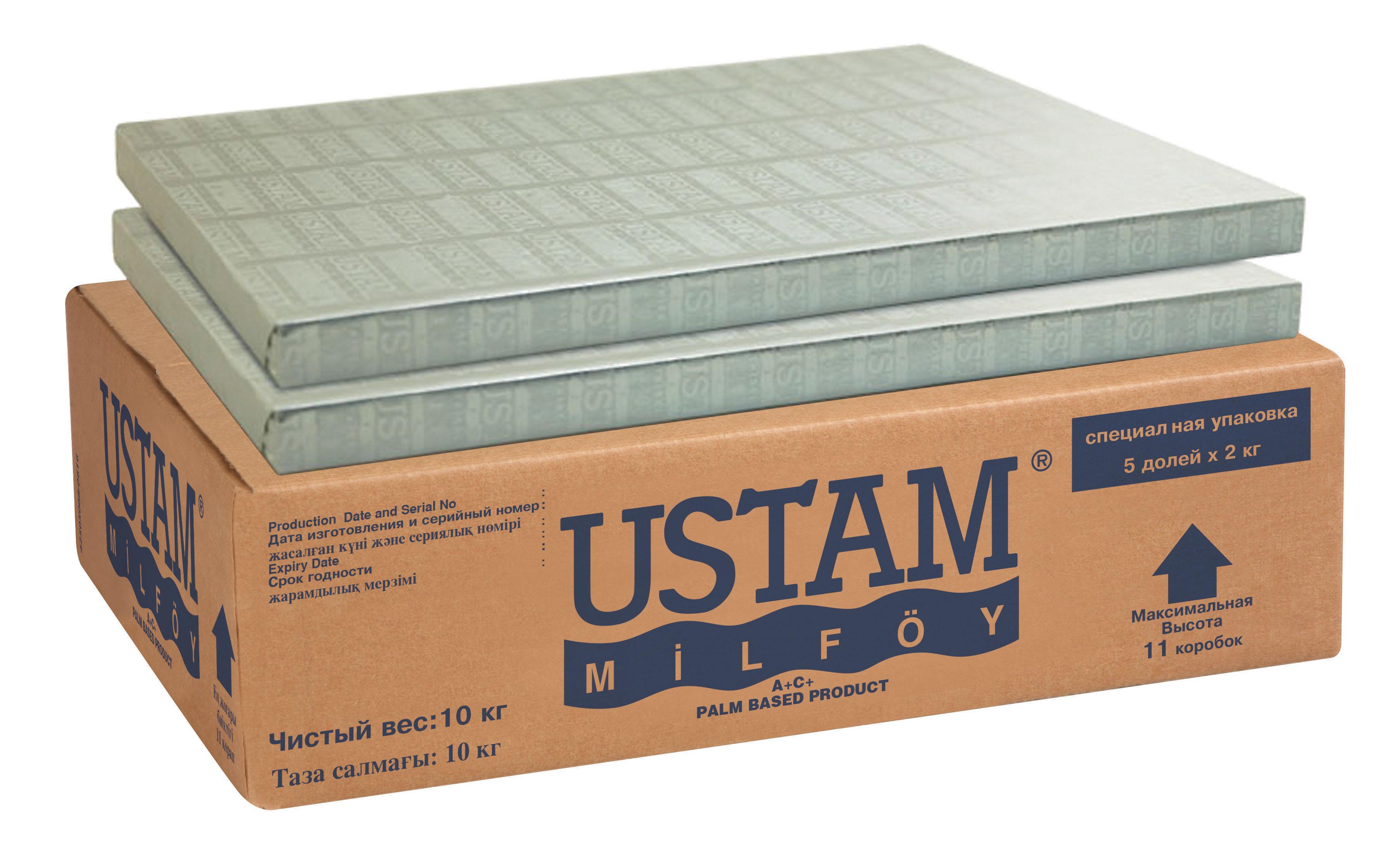 USTAM MILFOY/10 кг/ -  за кроасани и бутер теста - за ламинатори  /на листа/