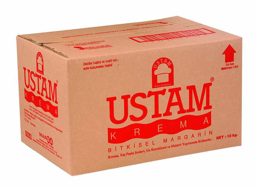 USTAM KREMA/10 кг/ - маргарин за кремове